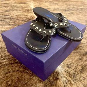STUART WEITZMAN Patent Leather Sandals 9.5